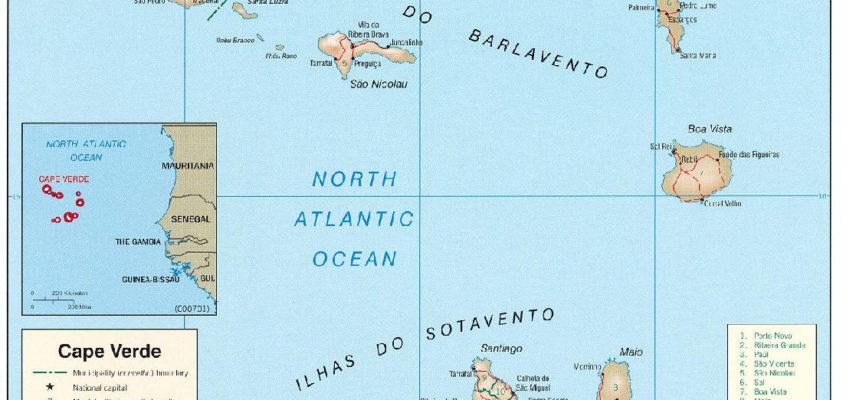 Croisière Iles du Cap Vert